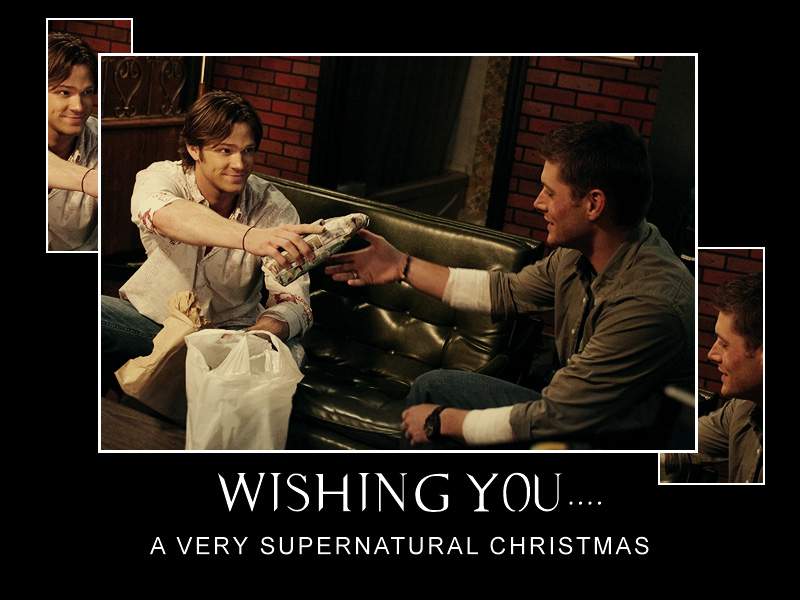 I wonder what Jared and Jensen have given each other this Christmas?